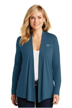 Picture of L5430 Port Authority® Ladies Concept Knit Cardigan