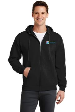 Picture of PC78ZH  Port & Company® - Core Fleece Full-Zip Hooded Sweatshirt