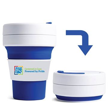 Picture of STOJO12BLU Pocket Collapsible Cup